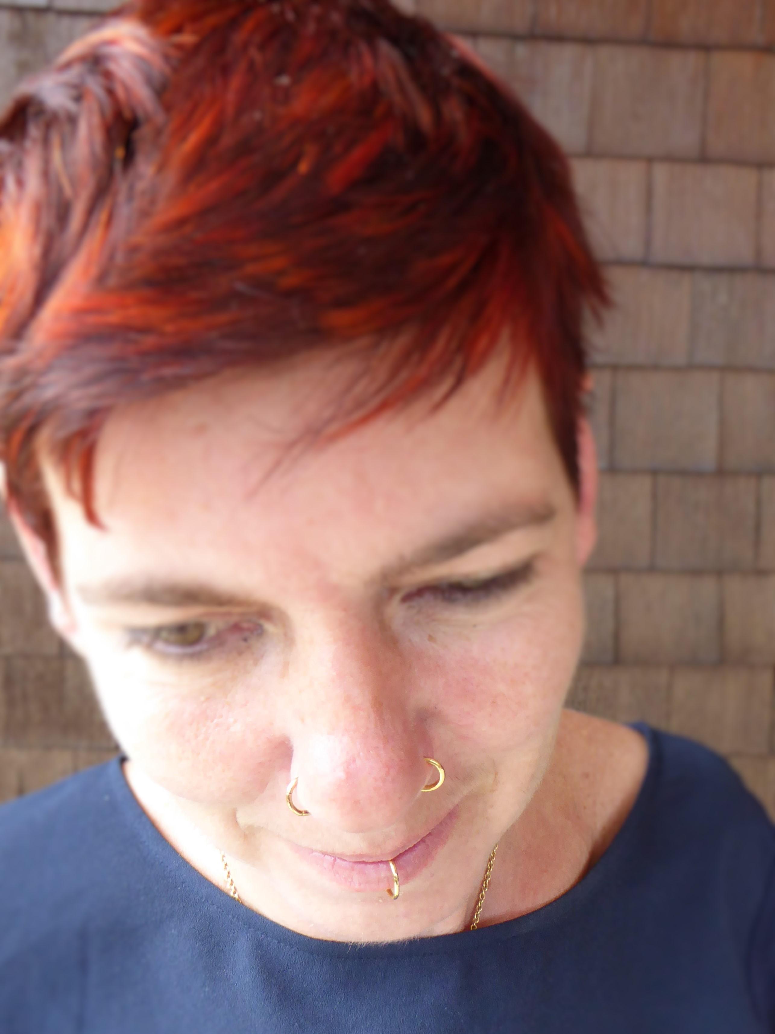 Piercing öffnen kugel Barbell (piercing)